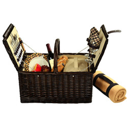 Surrey Picnic Basket for Two with Blanket - London image 1