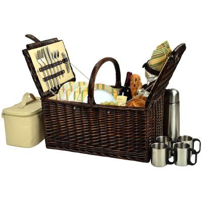 Buckingham Basket for 4 w/Coffee - Hamptons image 1