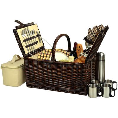Buckingham Basket for 4 w/Coffee - London image 1