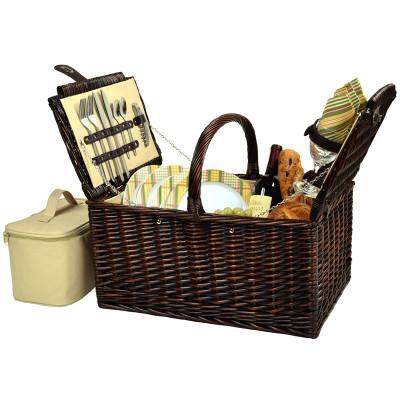 Buckingham Picnic Basket for Four - Hamptons image 1