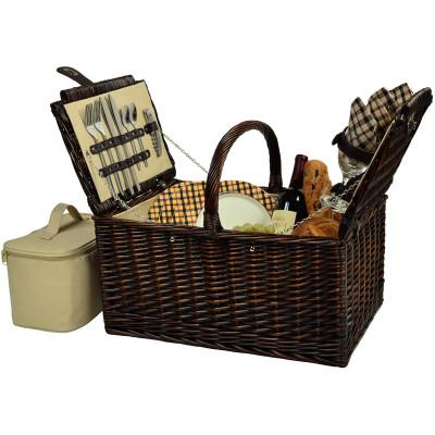 Buckingham Picnic Basket for Four - London image 1