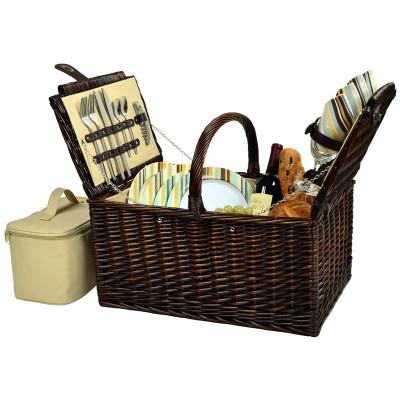 Buckingham Picnic Basket for Four - Santa Cruz image 1