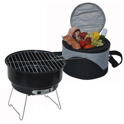 Cooler & Grill Set - Black image 1