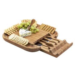 Malvern Cheese Board Set - Bamboo image 1