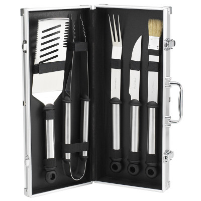 B.B.Q.-Primary Stainless Grill Tools - Silver image 1