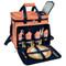 Deluxe Picnic Cooler for Four - Diamond Orange image 3