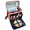 Deluxe Picnic Cooler for Four - Diamond Orange image 4