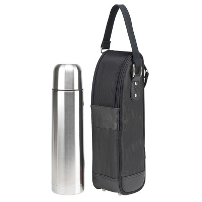 Coffee Flask & Carrier - Black image 1