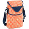Two Bottle Cooler Tote - Diamond Orange image 1