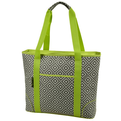 Extra Large Insulated Cooler Tote - Diamond Granite image 1
