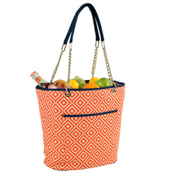 Fashion Cooler Tote - Diamond Orange image 1