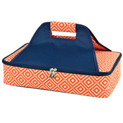 Thermal Food Carrier - Diamond Orange image 1