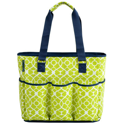 5fe2c733c53 Picnic At Ascot Extra Large Insulated Cooler Tote - Trellis Green - has ...