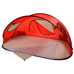 Family Beach Shelter - Red image 1