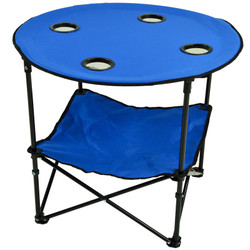 Canvas Picnic Table - Royal Blue image 1