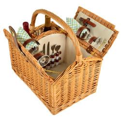 Vineyard Picnic Basket for Two - Gazebo image 1