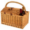 Vineyard Picnic Basket for Two - Santa Cruz image 2