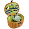 Ramble Picnic Basket for Two - Trellis Green image 1