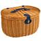 Ramble Picnic Basket for Two - Trellis Green image 2