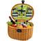 Ramble Picnic Basket for Two - Trellis Green image 3