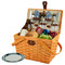 Frisco Picnic Basket For Two - Aegean image 3