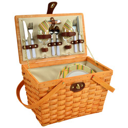 Frisco Picnic Basket For Two - Hamptons image 1