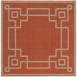 "Surya Alfresco  Rug - ALF9631 - 7'3"" Square"