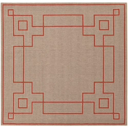 "Surya Alfresco  Rug - ALF9633 - 8'9"" Square"