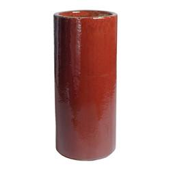 Round Pot - Red - Medium