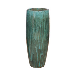 Cigar Jar - Teal - Small
