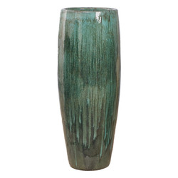 Cigar Jar - Teal - Square