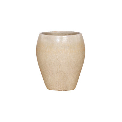 Rounded Planter - Champagne - Medium