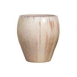 Rounded Planter - Champagne - Large