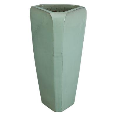 Triangle Pot - Spa Blue