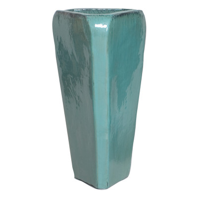 Triangle Pot - Teal