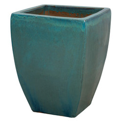 Square Planter - Teal - Xlarge