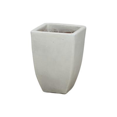 Square Planter - White - Medium