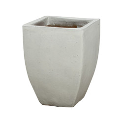 Square Planter - White - Large