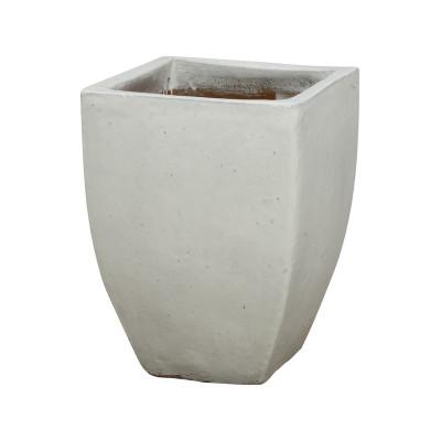 Square Planter - White - Large