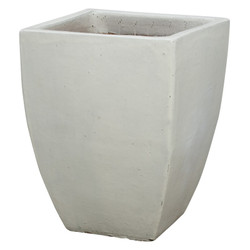 Square Planter - White - Xlarge