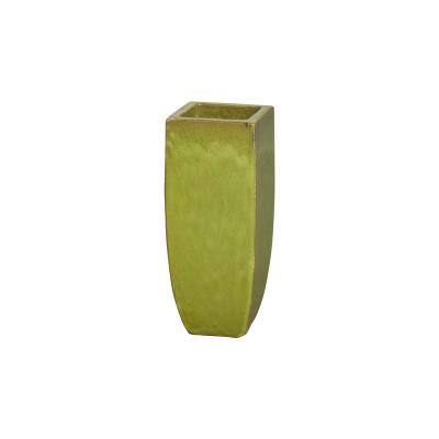 Tall Square Planter - Citron - Small