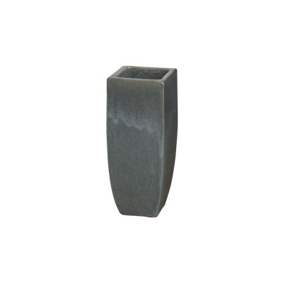 Tall Square Planter - Storm Gray - Small