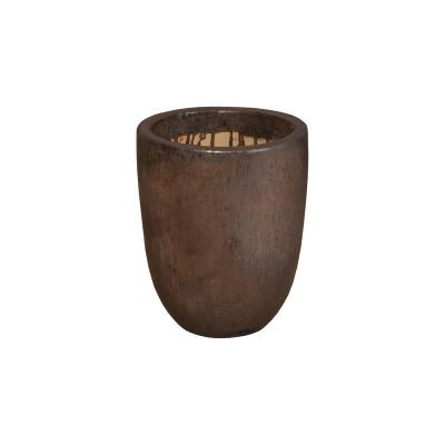 Cylinder Planter - Metallic - Small