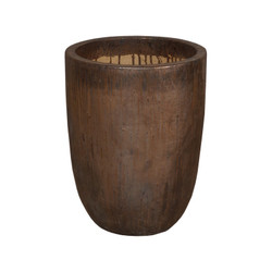 Cylinder Planter - Metallic - Medium