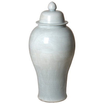 Ginger Jar - Celadon Crackle