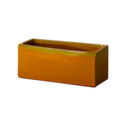 Window Box Planter - Bright Orange - Medium