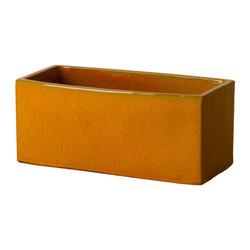 Window Box Planter - Bright Orange - Large