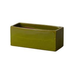 Window Box Planter - Deep Green - Medium