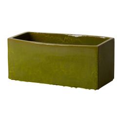 Window Box Planter - Deep Green - Large