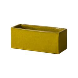 Window Box Planter - Mustard Yellow - Medium